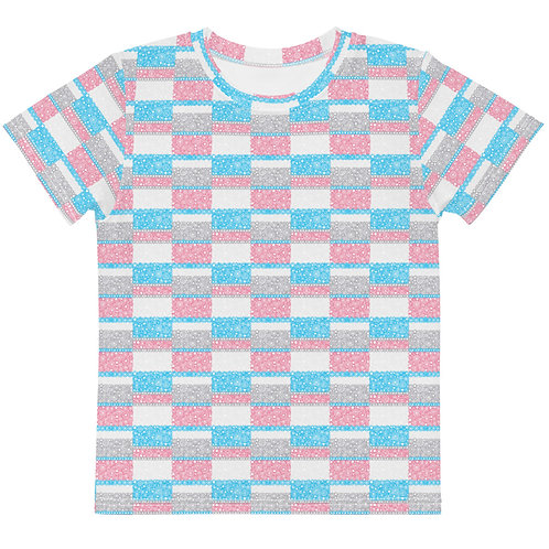 Kids Unity T-Shirt Blue And Pink