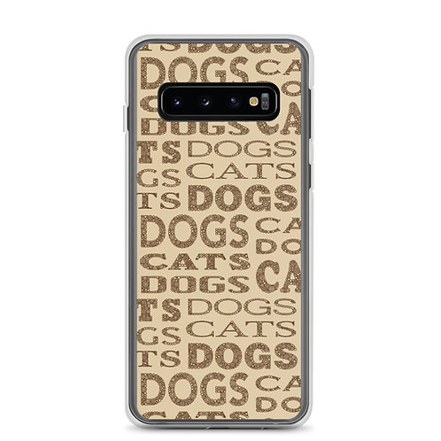 Cats And Dogs Type Samsung Phone Case