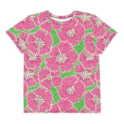 Youth All Over Dianthus Annuals T-Shirt