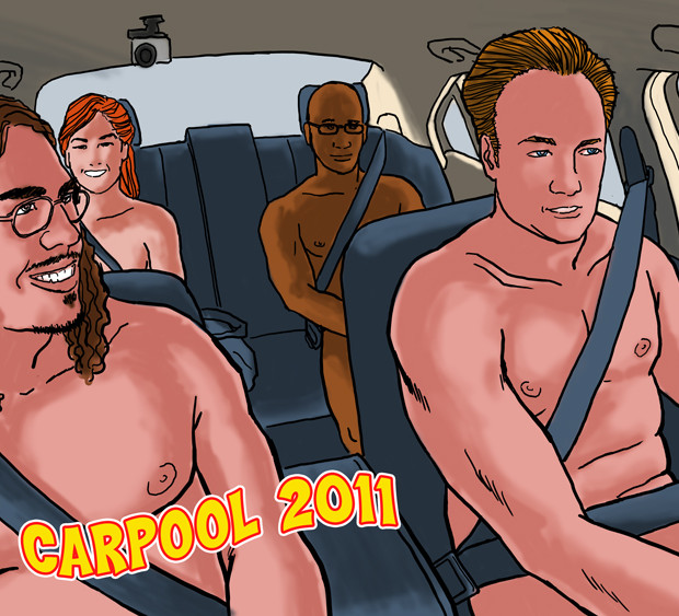Carpool Art After