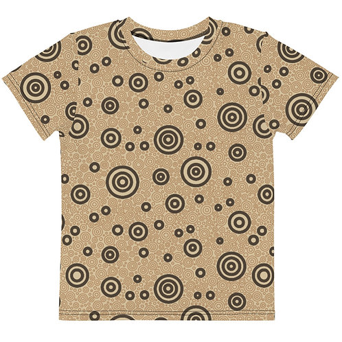 Kids Cats And Dogs Circles T-Shirt