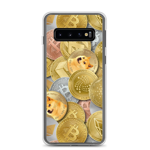 Cryptocurrency Samsung Phone Case