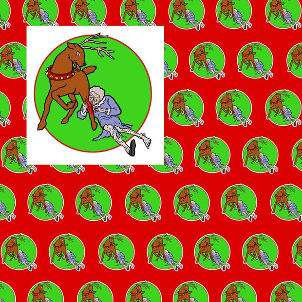 Zombie Wrapping Paper