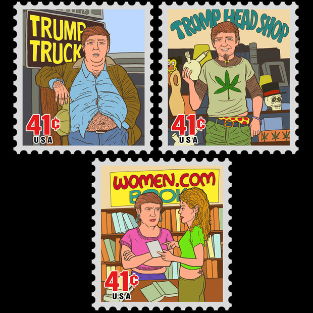 Donald Trump Other Jobs Stamps