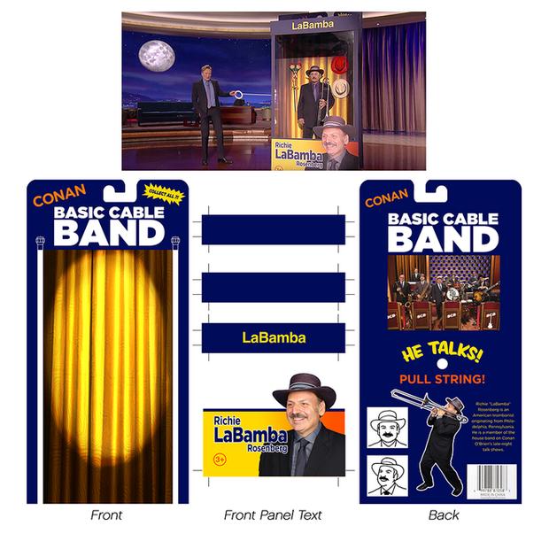 "LaBamba Life Size Action FigurePackage Designs (""Late Night"" - NBC)"