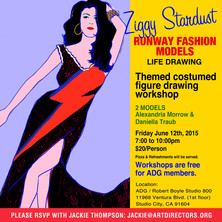 2015/06/12 - Ziggy Stardust Runway Fashion Models