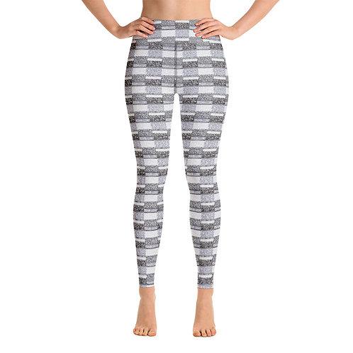 Women Yoga Unity Leggings Black And White