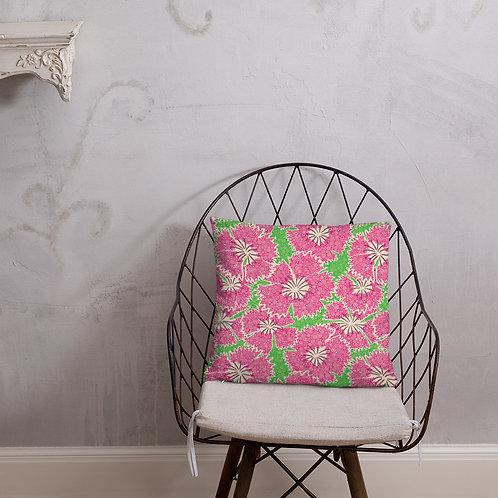 Dianthus Annuals Pillow