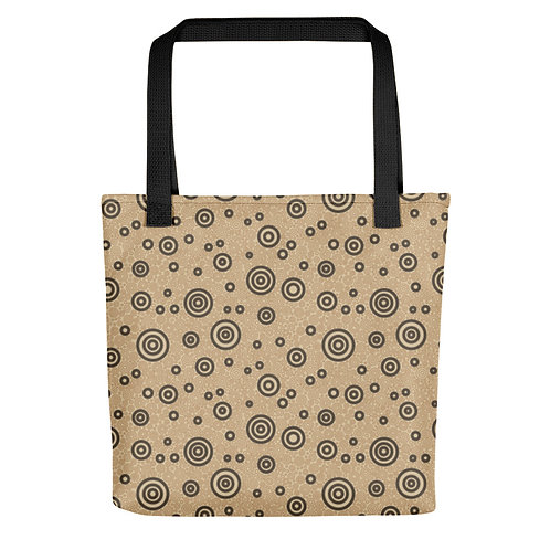 Cats And Dogs Circles Tote