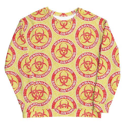 Social Distancing Sweatshirt Yellow