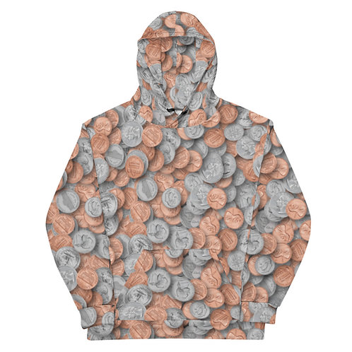 All Over Loose Change Hoodie