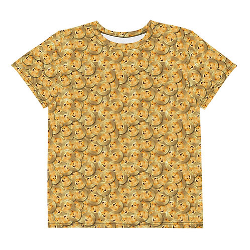 Youth All Over Cryptocurrency Dogecoin T-Shirt