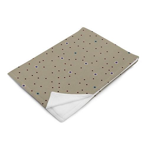 Recliner Neutral Throw Blanket