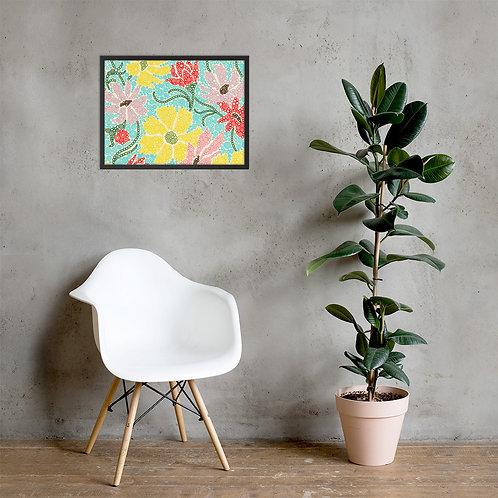 Spring Garden Framed Poster