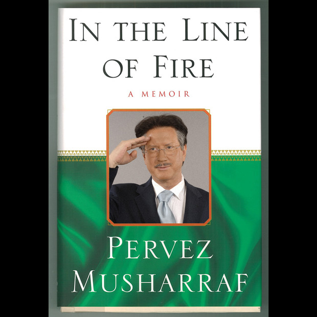 Bookcover: In The Line Of Fire