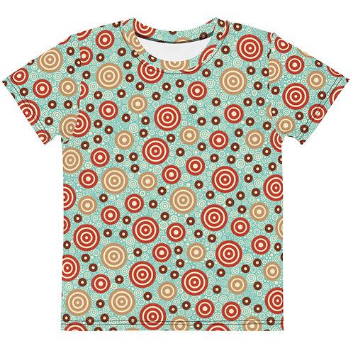 Kids Aztec Warrior T-Shirt Sky