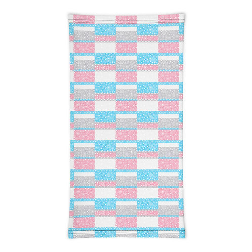 Unity Neck Gaiter Blue And Pink