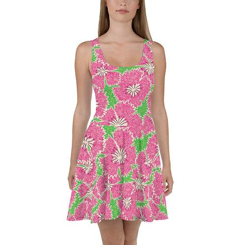 Dianthus Annuals Skater Dress