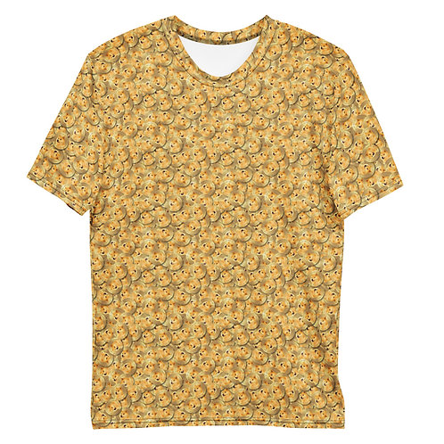 Men All Over Cryptocurrency Dogecoin T-Shirt