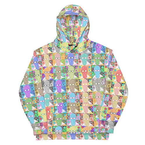 All Over Comfortable & Furious Hoodie
