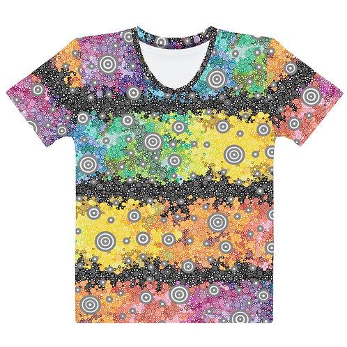 Women All Over Light Spectrum with Dark Matter T-Shirt