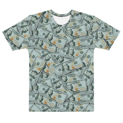 Men All Over 100 Dollar Bills T-Shirt