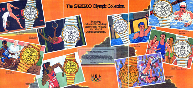 Seiko Olympic Comp
