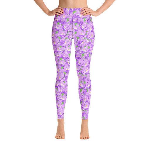 Women Yoga Crocuses Leggings