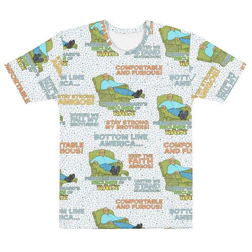 Men All Over Recliner Of Rage T-Shirt