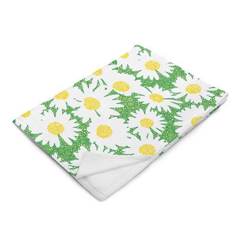 Oopsie Daisies Throw Blanket