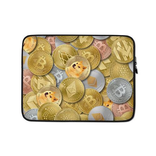Cryptocurrency Laptop Sleeve
