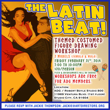 2014/02/21 - The Latin Beat!