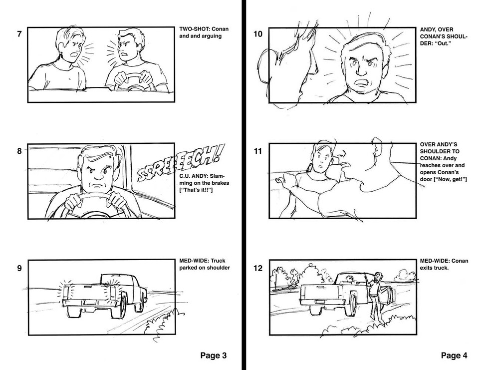Wonder Woman: Frames 7 - 12