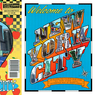 Cover & Back To Welcome to New York City Coloring Book