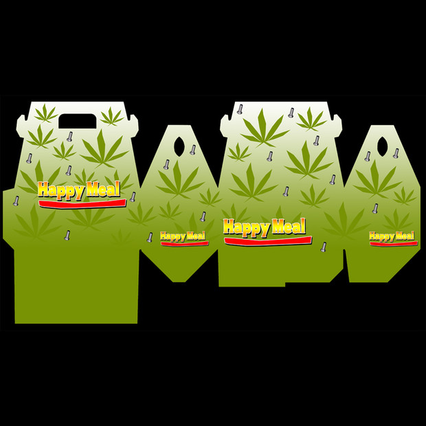 Package Design: Pot Happy Meal Box