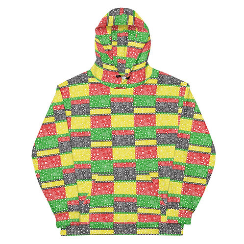 All Over Unity Hoodie Afrocentric