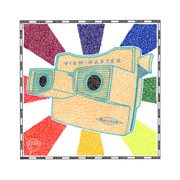"Corporate Branding - ""The Colorful World Of Viewmaster"""