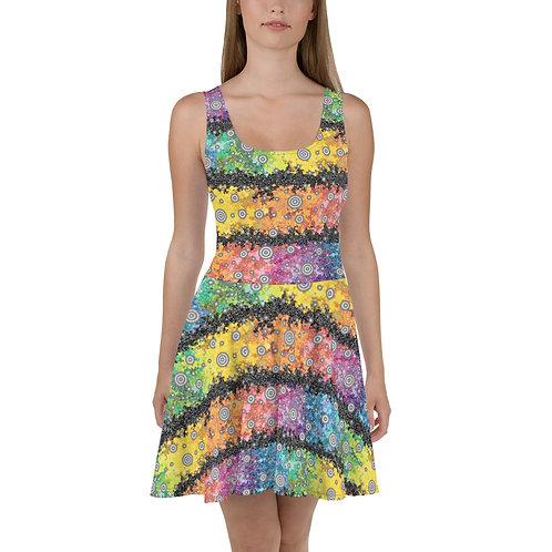 Light Spectrum with Dark Matter Skater Dress