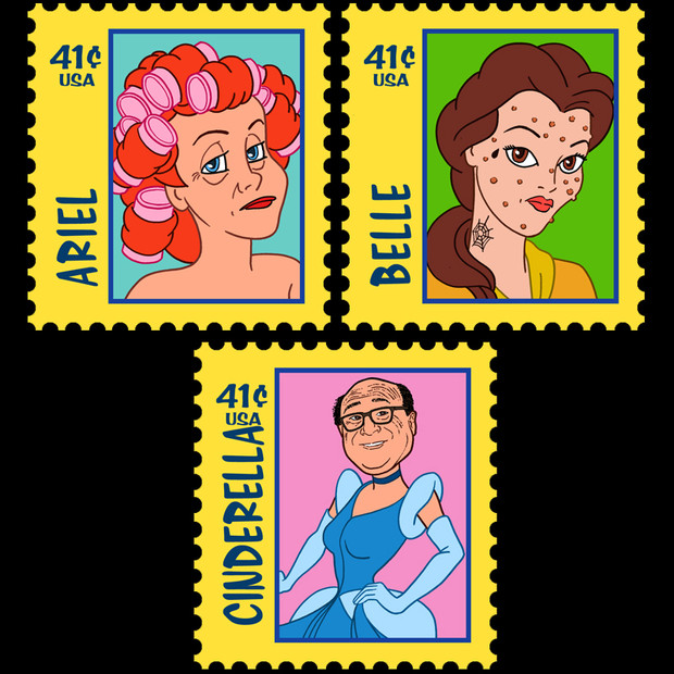 Disney Princess Stamps