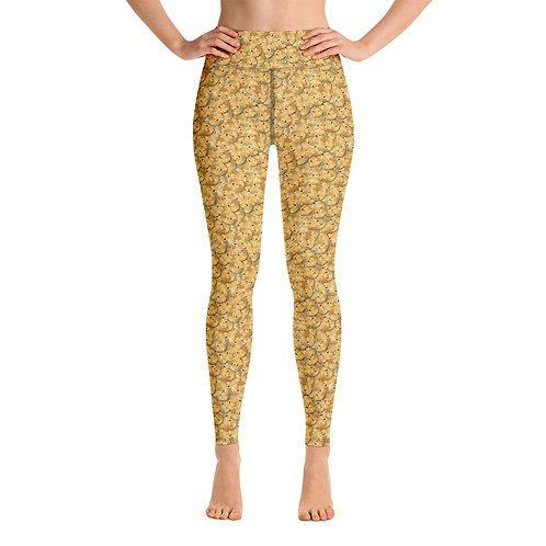 Women Yoga Cryptocurrency Dogecoin Leggings