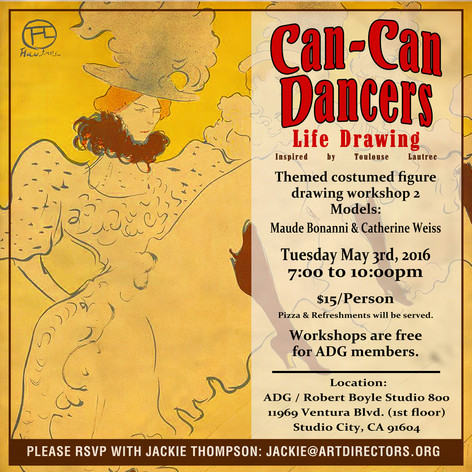 2016/05/03 - Can-Can Dancers