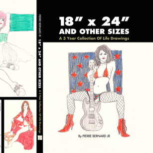 Cover & Back of 18x24 Book