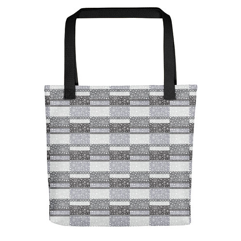 Unity Tote Bag Black And White