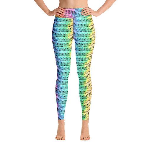 Women Yoga Crayon Leggings