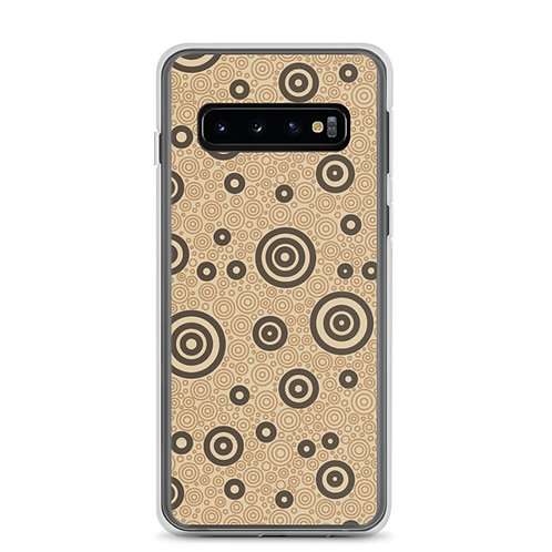 Cats And Dogs Circles Samsung Phone Case