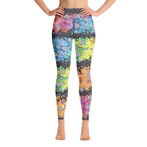Women Yoga Light Spectrum with Dark Matter Leggings