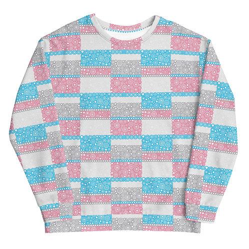 Unity Sweatshirt Blue And Pink
