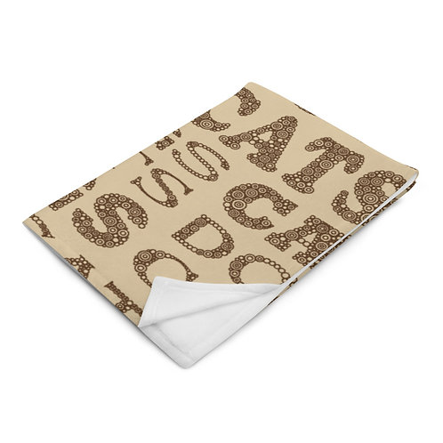 Cats And Dogs Type Throw Blanket