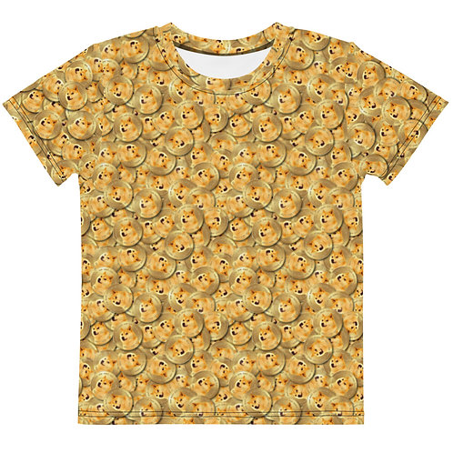 Kids Cryptocurrency Dogecoin T-Shirt