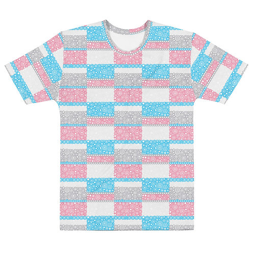 Men All Over Unity T-Shirt Blue And Pink